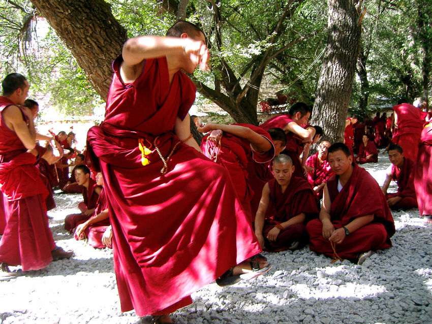 Na svojich fotografiách na ceste z tibetu do nepálu - ilona a viktor